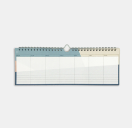 SUNNY SHAPES WEEK PLANNER