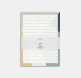 SUNNY SHAPES NOTEPAD