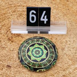 Switch Steen 30mm Mandala Groen