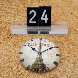 Switch Steen 30mm Klok Eiffeltoren