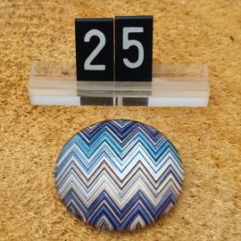 Switch Steen 30mm Kartel Blauw-Bruin