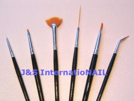 Japanse Nail Art Penselen - 6