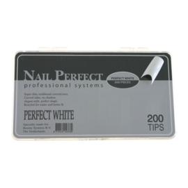 Nail Perfect - Perfect White 200 stuks
