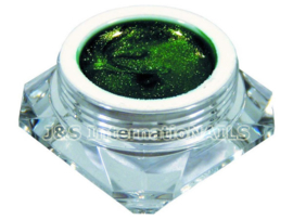 A4N Color Gel Groen Metallic 5 gram
