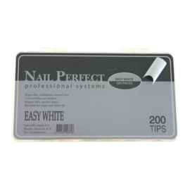 Nail Perfect - Easy White 200 stuks
