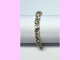 Teenring met Strass - Crystal