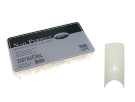 Nail Perfect - Easy Natural 200 stuks