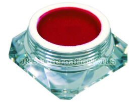 A4N Color Gel Fel Rood Metallic 5 gram