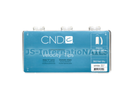 CND Velocity Tips - Wit 360 stuks