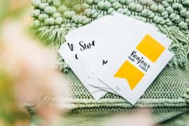Mijlpaalkaarten Bonjour Baby! Cards