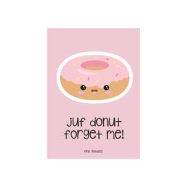 Kaart Juf / Donut