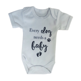 Romper Every dog needs a baby
