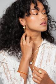 Magic Sun Coin Earring