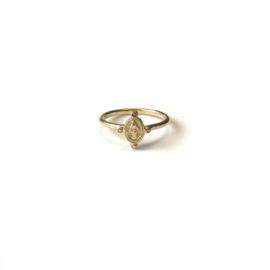 Maria Mini Dots Ring Gold
