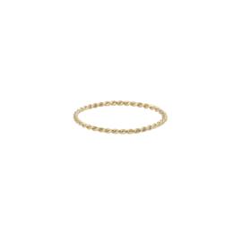 Zigzag Ring 14 Karat Solid Gold