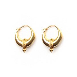 Tribal Earrings Gold
