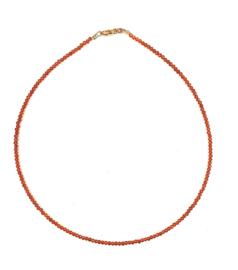 Zinnia Carnelian Necklace