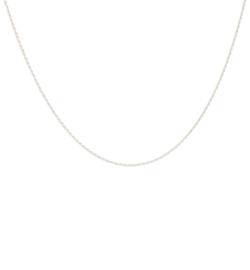Zigzag Necklace 14 karat Solid Gold