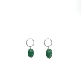 Emerald Jade Earrings