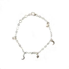 Goodnight Star Moon Bracelet