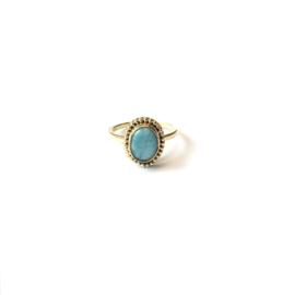Morning Sun Turquoise ring