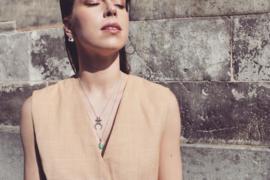 Ethnic Moon Necklace