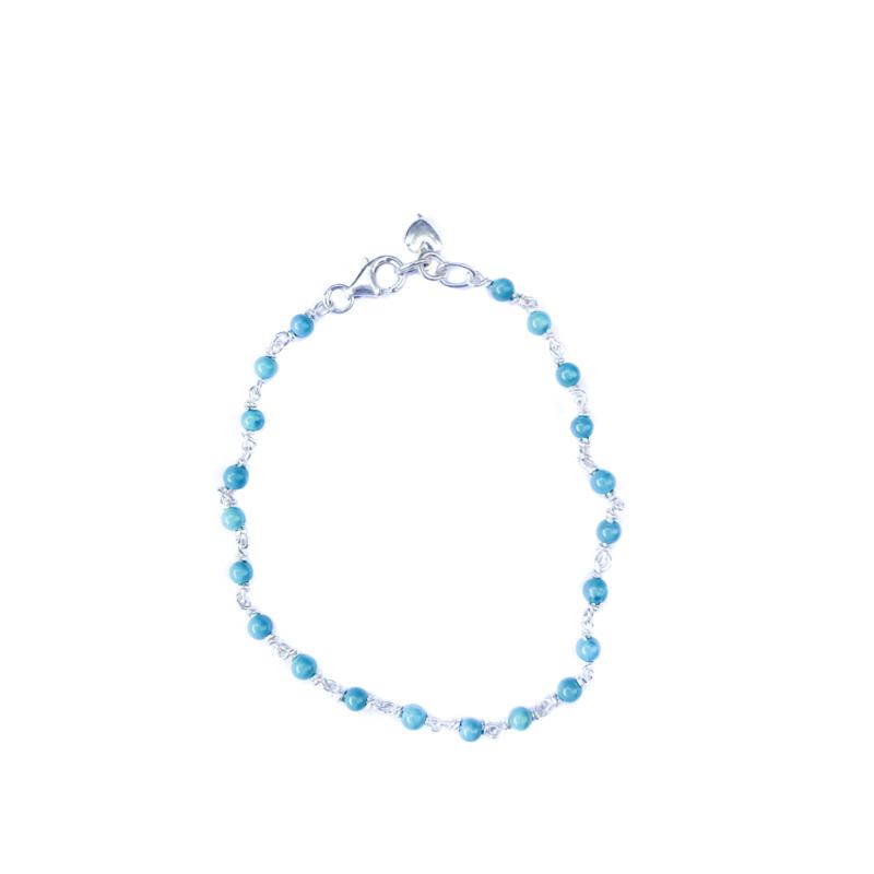 Turquoise Dots Bracelet