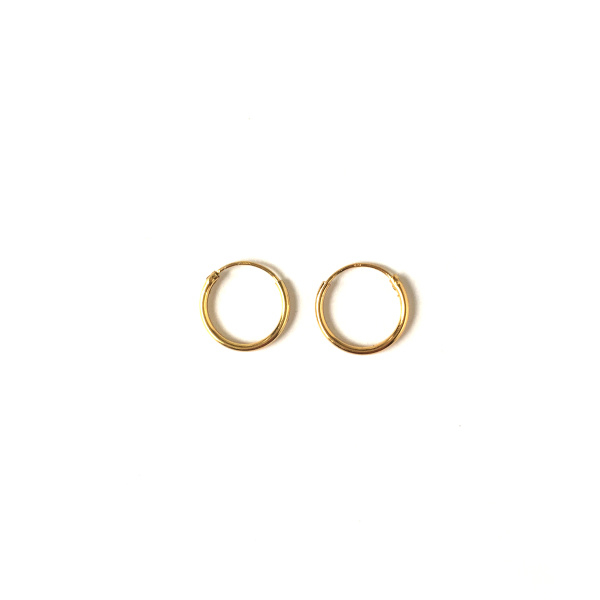 14 k Hoop Earrings