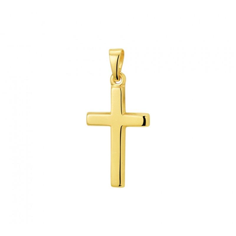 Cross Charm 14 Karat Solid Gold