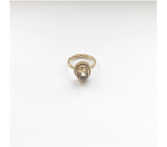 Citrine Wanderer Ring