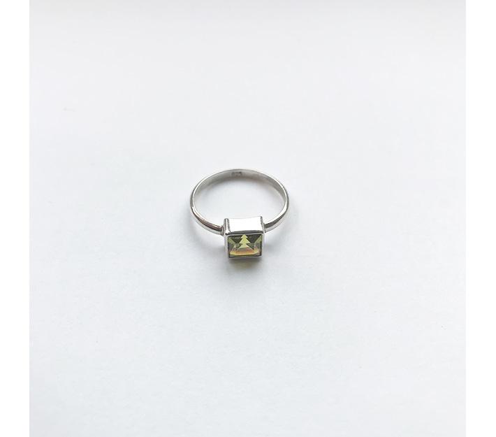 Peridot Pilgrim Ring