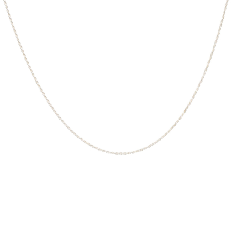 Zigzag Necklace 14 karat Solid Gold