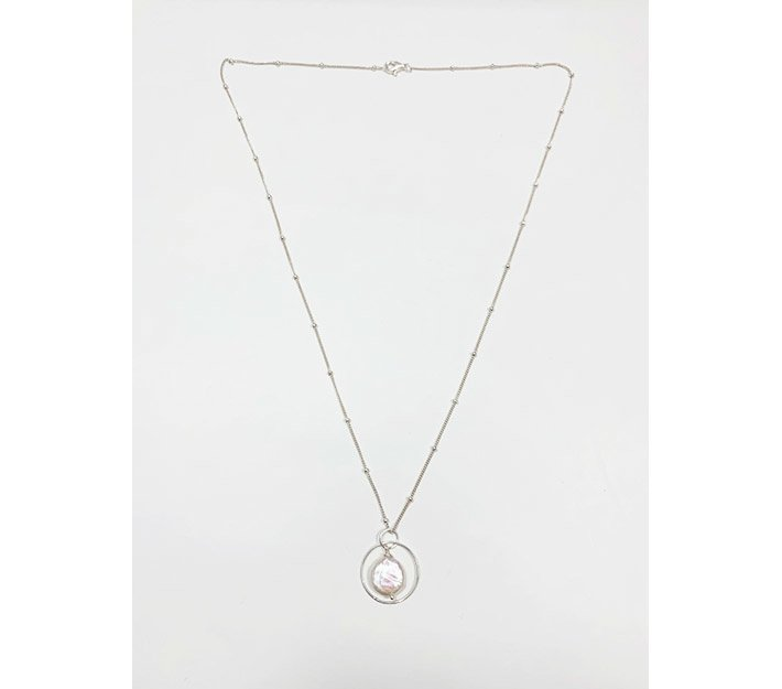 Infinity Moonstone Necklace