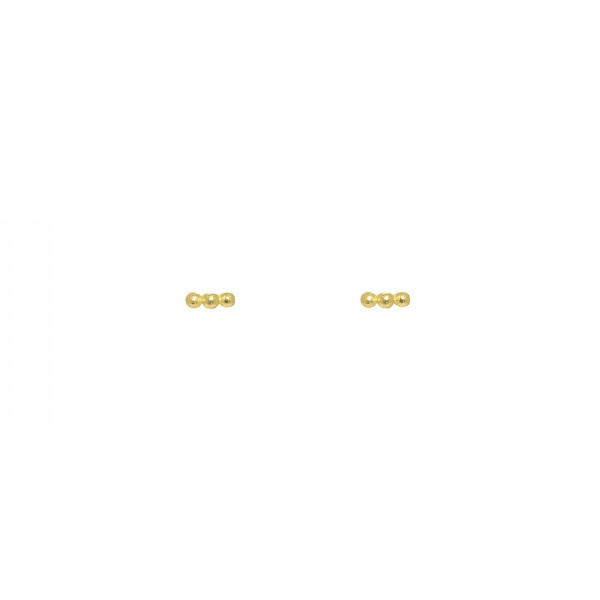 Floater Dots Studs Gold