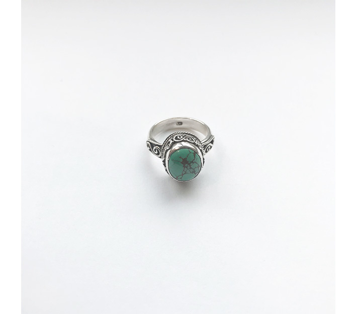Straggler Turquoise Stone Ring