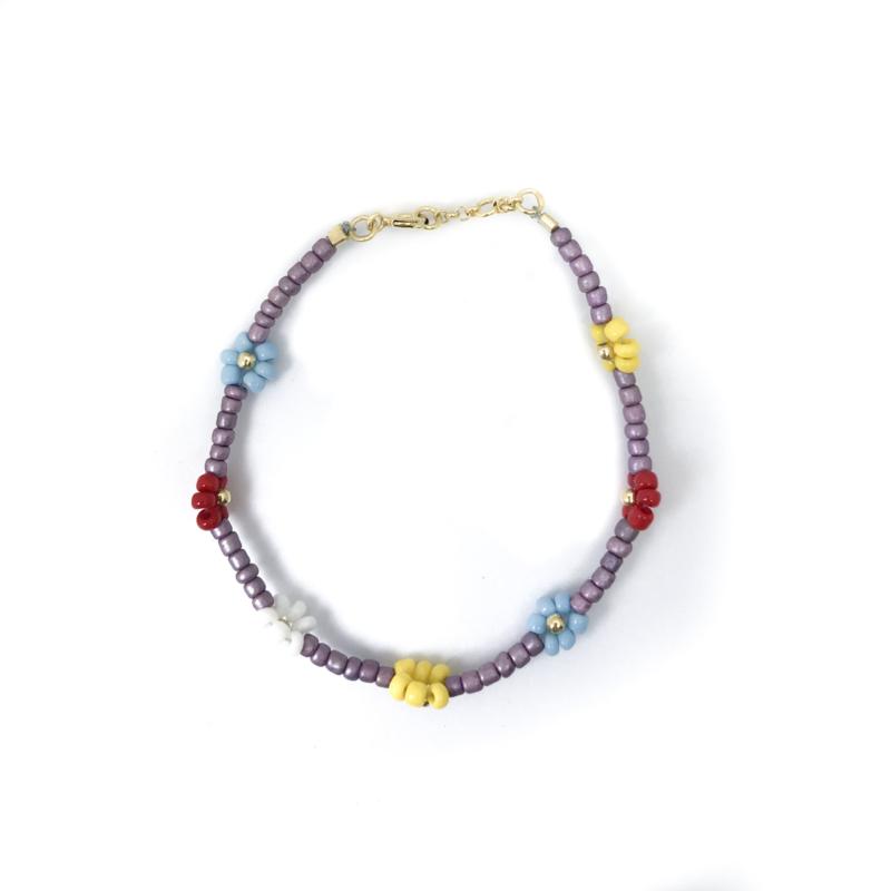 Flower Dream Purple Bracelet