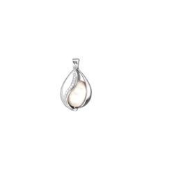 Engelsrufer zilveren hanger 'Tear of heaven', met klankbol