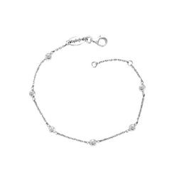 Engelsrufer zilveren armbandje met cubic zirconia