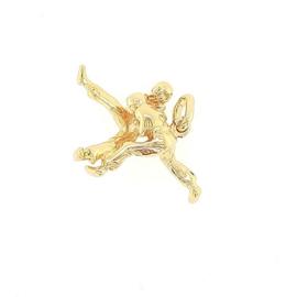 Plaqué gouden hanger judo