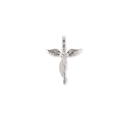 Engelsrufer zilveren hanger 'Engel'