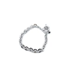 Armband in wit goud