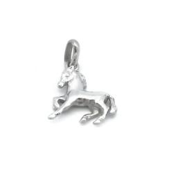zilveren hanger paardje