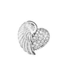 Engelsrufer zilveren hanger 'Heartwing'