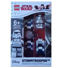 Lego kinderhorloge - Star Wars - Stormtrooper