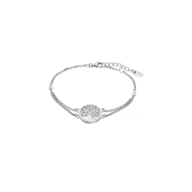 Lotus Silver zilveren armband met levensboom
