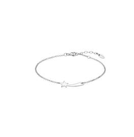 Lotus Silver zilveren armband met staartster