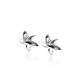 Zinzi zilveren oorbellen zeester