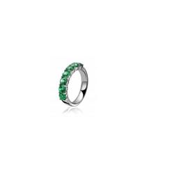 Zinzi zilveren ring met cubic zirconia
