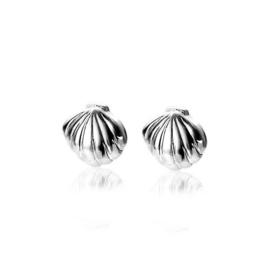 Zinzi zilveren oorbellen schelpjes