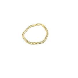 Armband in plaqué goud